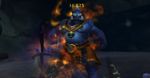 I have no idea how I got this screenshot, but it is the coolest shot of a mogu that I have ever seen