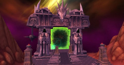 I was asked to visit the Dark Portal for Children's Week and even though its apart of a six year old expansion it still takes my breath away